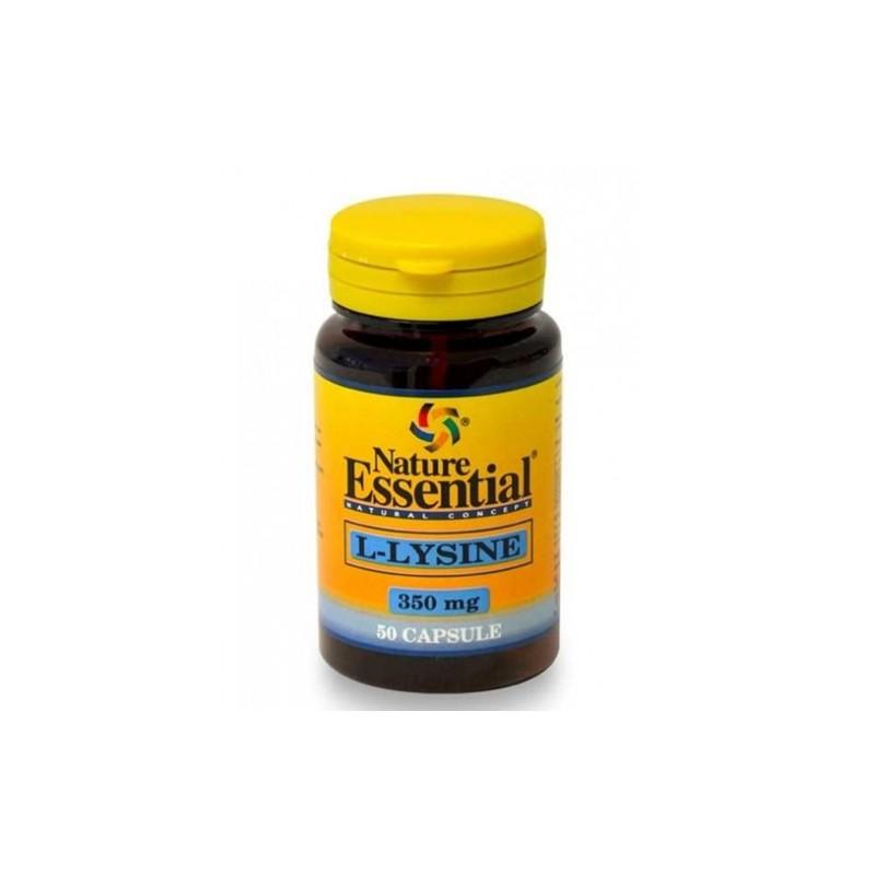 L-Lysina 350 mg. Nature Essential
