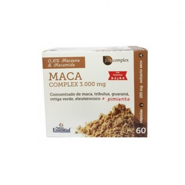 Maca Complex 3000 mg. Nature Essential