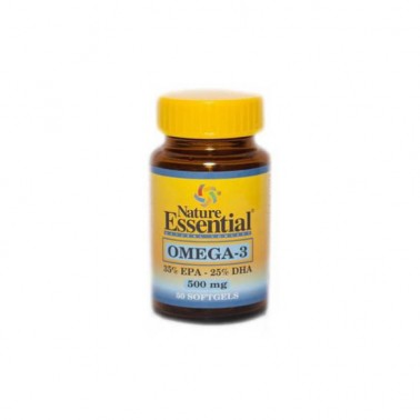 Omega 3 (EPA 35% DHA 25%) 500 mg Nature Essential