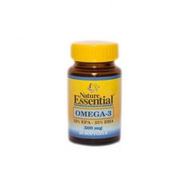 Omega 3 (EPA 35% DHA 25%) 500 mg Nature Essential
