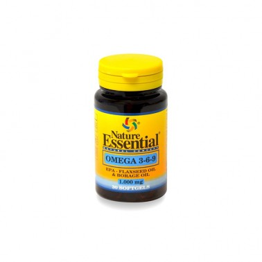 Omega 3-6-9 1000 mg. Nature Essential