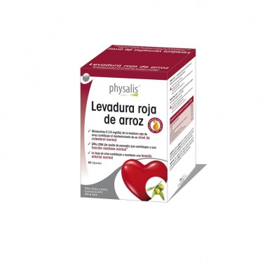 Levadura Roja de Arroz Q10 Forte Physalis