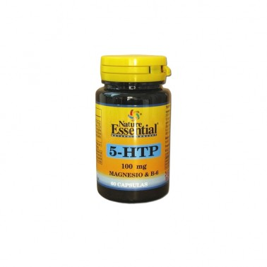 Triptófano 5-HTP 100 mg. + Magnesio + Vit. B6 Nature Essential