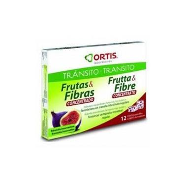 Frutas y Fibra concentrado 12 cubitos Ortis
