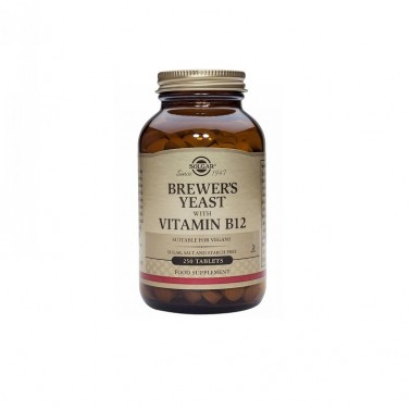 Levadura Cerveza 500 mg Solgar, 250 comp.