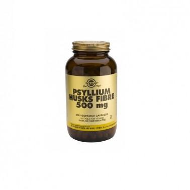 Psyllium Fibra Cáscara Solgar, 200 cap.