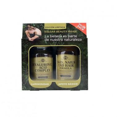Pack Belleza Hair-Skin-Nail + Ac. Hialurónic Complex Solgar