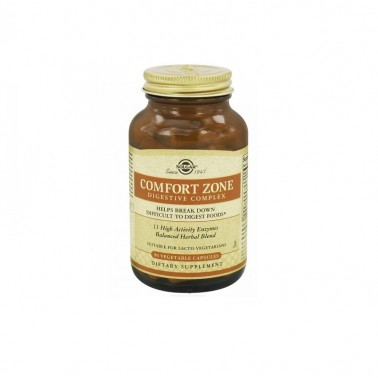 Confort Zone Digestive Complex Solgar, 90 cap. veg.