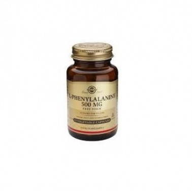 L-Fenilalanina 500 mg Solgar, 50 caps.