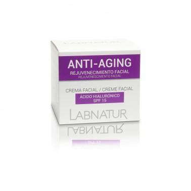 Labnatur Crema Anti Aging Acido Hialurónico, 50 ml.