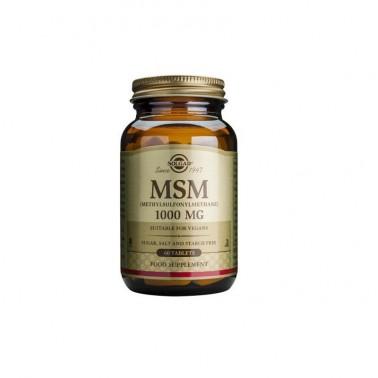 MSM (metilsulfonilmetano) 1000mg Solgar, 60 comp.