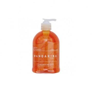 Jabón de Manos Mandarina Laboratorio SYS, 500 ml.