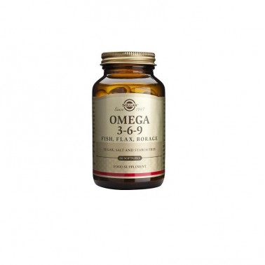 Omega 369 Solgar, 120 cap. gel blandas