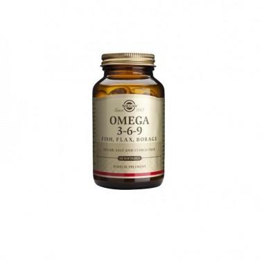 Omega 369 Solgar, 60 cap. gel blandas