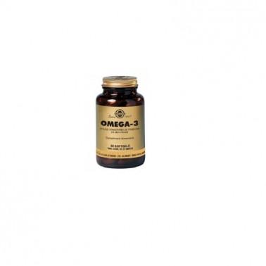 Omega 3 Alta concentración Double Strength Solgar, 60 perlas
