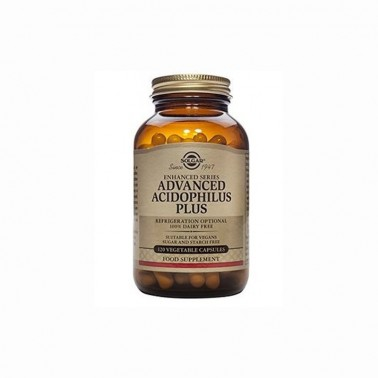 Acidophilus Plus Avanzado Solgar, 120 vegicaps