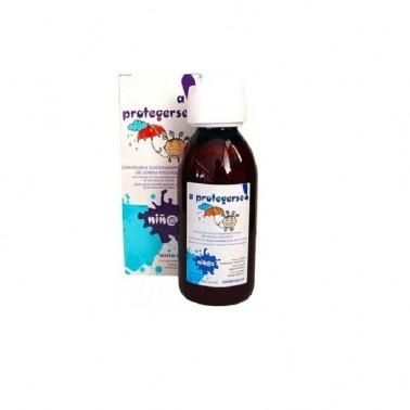 A Protegerse Niñ@s jarabe Soria Natural, 150 ml.