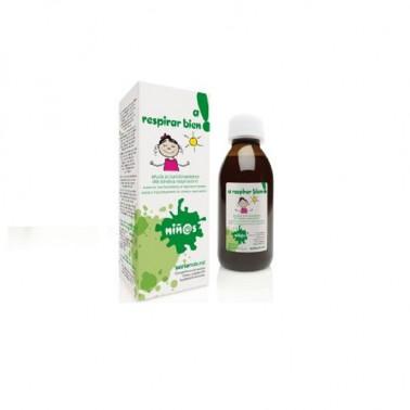 A Respirar bien niñ@s Jarabe Infantil Soria Natural, 150 ml.