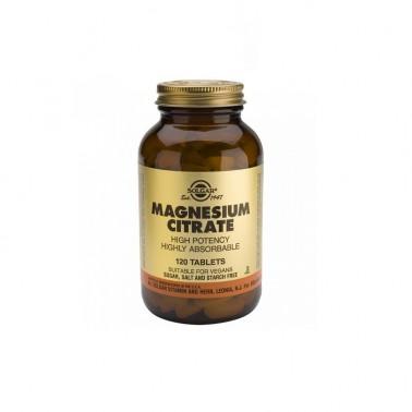 Citrato de Magnesio Solgar 120 comp.