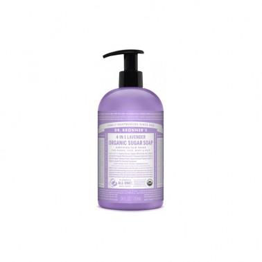 Jabón de azúcar Lavanda Dr. Bronner´s 710 ml