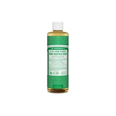 Jabón Líquido almendras Dr. Bronner´s 475 ml.