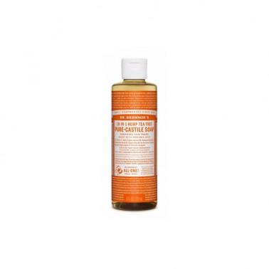 Jabón Líquido árbol del te Dr. Bronner´s 240 ml.