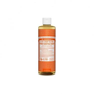 Jabón Líquido árbol del te Dr. Bronner´s 475 ml.