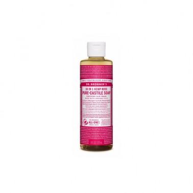 Jabón Líquido Rosas Dr. Bronner´s 240 ml.