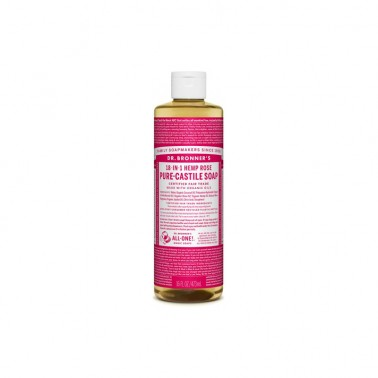 Jabón Líquido Rosas Dr. Bronner´s 475 ml.