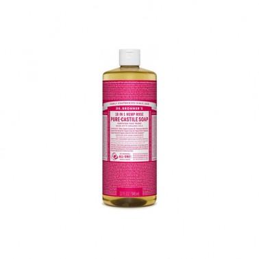 Jabón Líquido Rosas Dr. Bronner´s 945 ml.