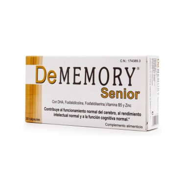 DeMemory Senior Pharma OTC, 30 cap.