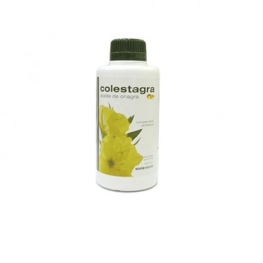 Aceite de Onagra Colestagra Soria Natural, 500 perlas