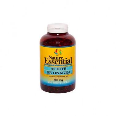 Aceite de Onagra 500 mg (10% GLA) Nature Essential, 400 perlas