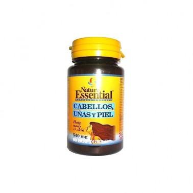 Cabello, Uñas y Piel 540 mg. Nature Essential, 60 perlas