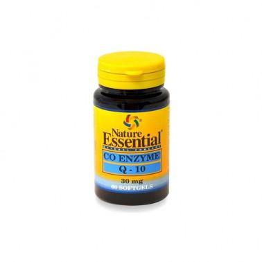 Co-Enzima Q10 30 mg. Nature Essential, 60 perlas