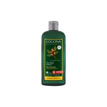 Champú brillo argan Bio Logona, 75 ml