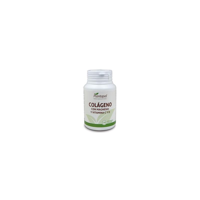 Colágeno, Magnesio, Vitamina C y D Plantapol, 120 comp.