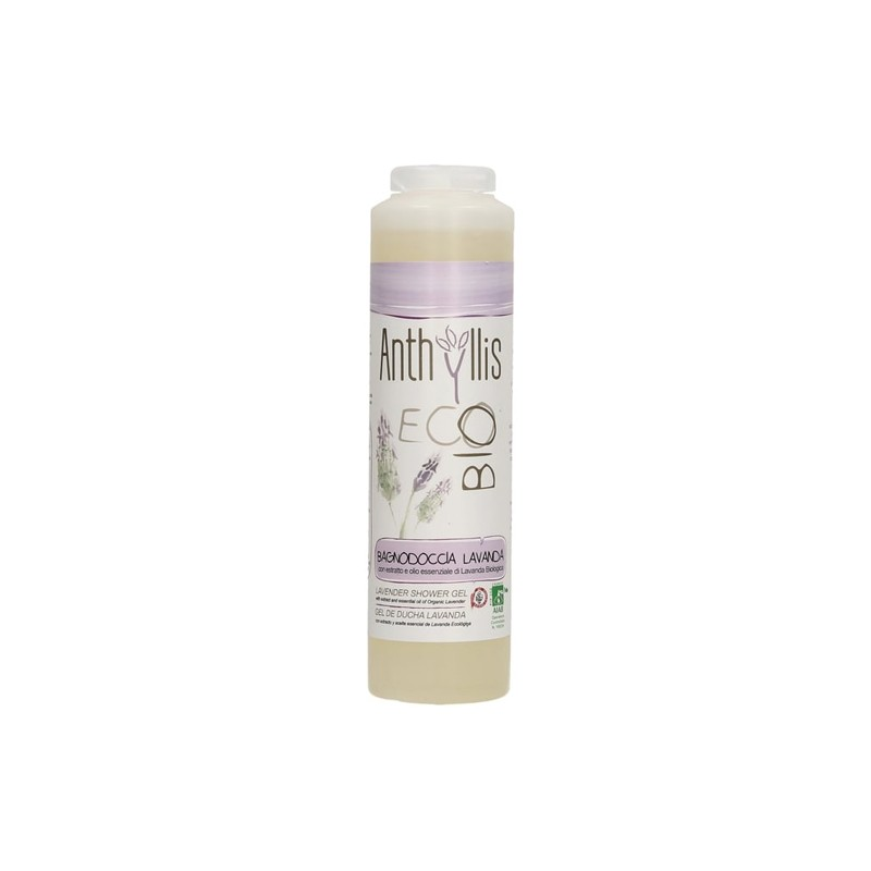 Gel de ducha Lavanda ECO Anthyllis, 250 ml.