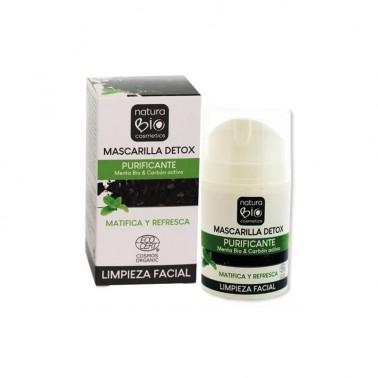 Mascarilla Detox Purificante NaturaBio Cosmetics