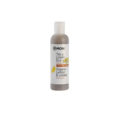 Gel exfoliante tilo y limón Ecológico Mon, 200 ml.