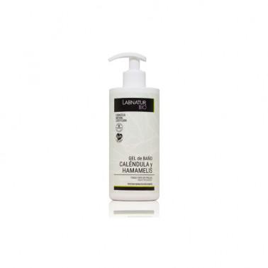 Labnatur Bio Gel de Baño Caléndula-Hamamelis, 450 ml.