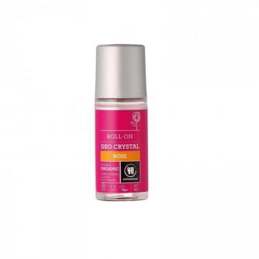 Desodorante Rosas Roll-on Urtekram, 50 ml.