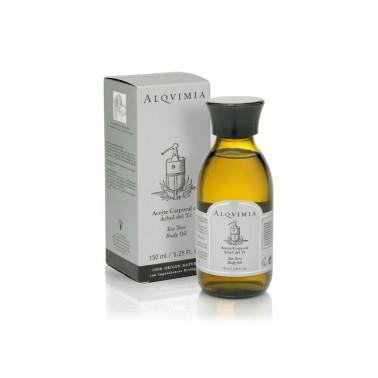 Aceite Corporal Arbol del Te Alqvimia, 150 ml.