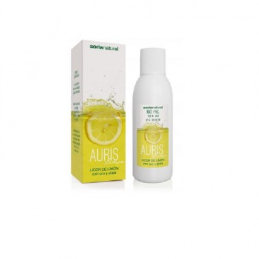 Auris Lemon Soria Natural, 60 ml.