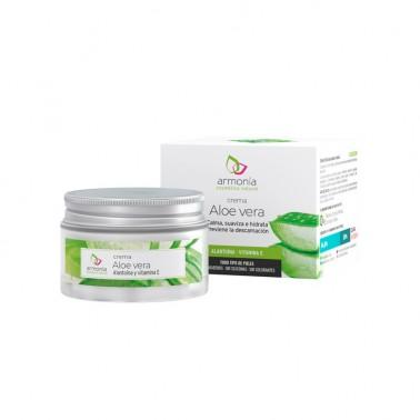Armonía Crema Aloe Vera con Alantoína y Vitamina E, 50 ml.