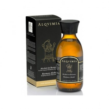 Alcohol de Romero Alqvimia, 150 ml.