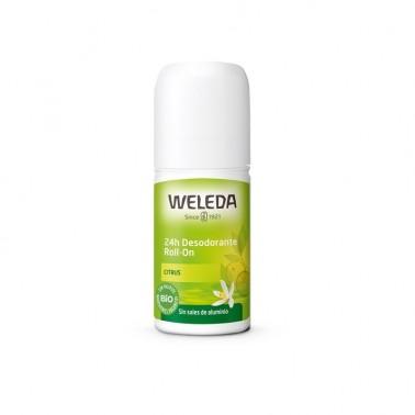 Weleda Desodorante Roll-on Citrus, 50 ml.