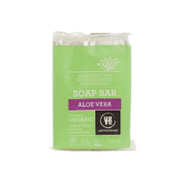 Pastilla de Jabón Aloe Vera Urtekram, 100 ml.