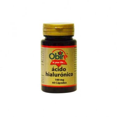 Acido Hialurónico 100 mg Obire, 60 cap.