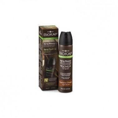 Spray Retoque Castaño Claro Biokap, 75 ml